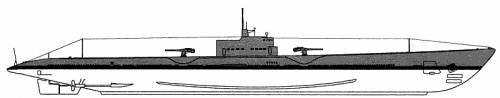 USS SS-166 Argonaut (1942)