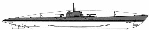 USS SS-167 Narwhal (1941)