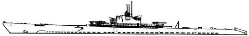 USS SS-168 Nautilus 1943 (Submarine)