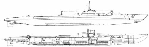 USS SS-169 Dolphin (1933)