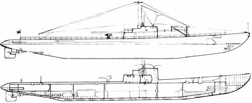 USS SS-171 Cuttlefish (1944)