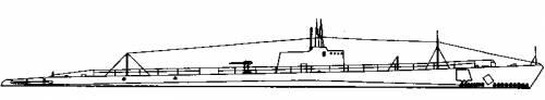 USS SS-175 Tarpon (Shark class) (1936)