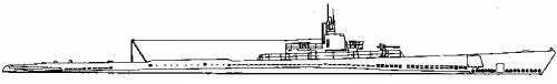 USS SS-177 Pickerel (Perch class) (1942)