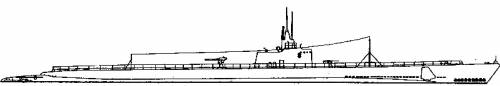 USS SS-198 Tambor (Tambor class) (1940)