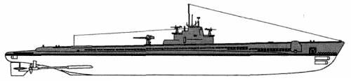 USS SS-205 Marlin (1944)