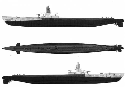 USS SS-212 Gateau (Submarine) (1942)