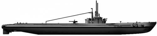 USS SS-212 Gato (Submarine)