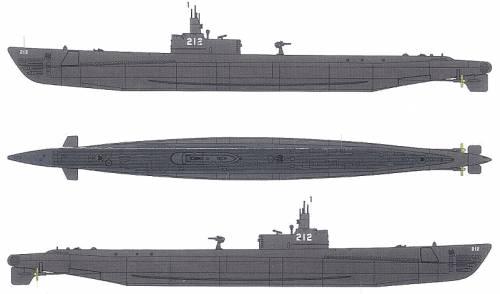 USS SS-212 Gato (Submarine) (1941)
