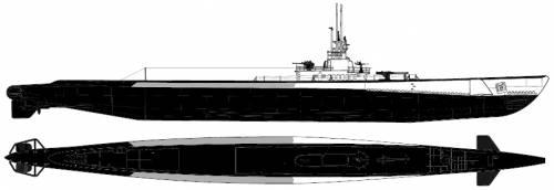 USS SS-215 Growler (Submarine)
