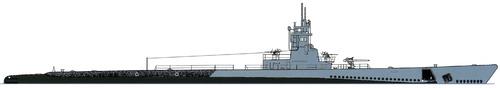 USS SS-237 Trigger 1945 [Submarine]