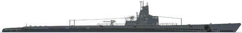 USS SS-238 Wahoo 1942 [Submarine]