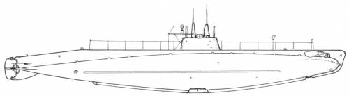 USS SS-24 Skipjack (E-1) (1912)
