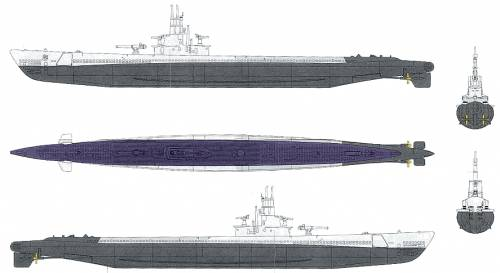 USS SS-285 Balao (Submarine)