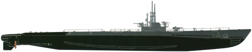 USS SS-287 Bowfin 1944 [Submarine]