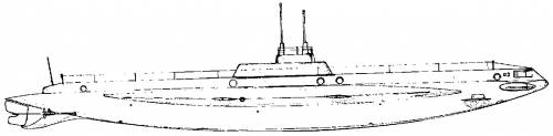 USS SS-31 Turbot (1914)