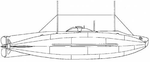USS SS-3 Adder