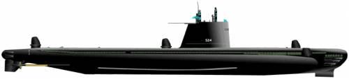 USS SS-524 Pickerel (Submarine)