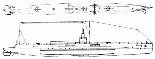 USS SS-52 AA-1 (1920)