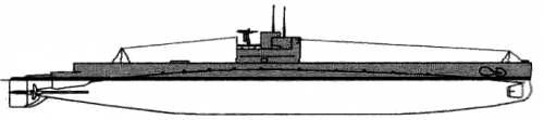 USS SS-69 O-8 (1943)