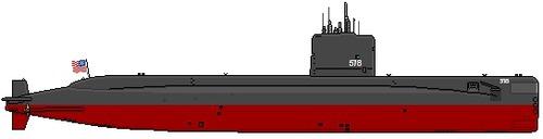 USS SSN-578 Skate [Submarine]