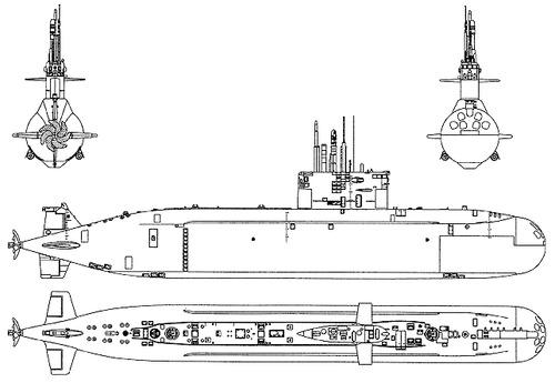 Russia - RFS Project 677 Lada - class Sankt Petersburg B585 Submarine