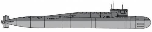 USSR Delta III SSBN [Submarine]