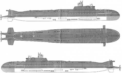 USSR K-141 Kursk (Oscar-II class submarine)