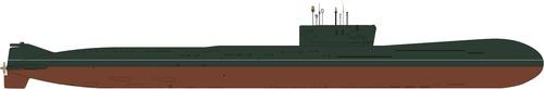 USSR K-403 Kazan Project 09780 Akson-2 Yankee Big Nose-class Submarine