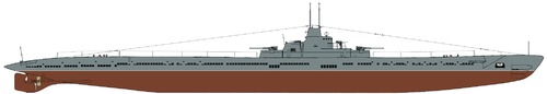 USSR K-class Submarine