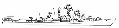 USSR Kashin II (Destroyer)