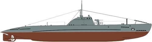 USSR Malyutka class VI-bis series Submarine