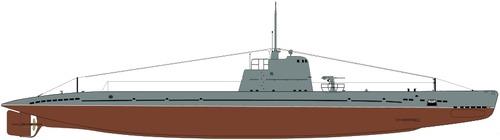 USSR Malyutka class XII series Submarine