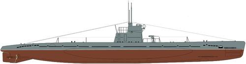 USSR Malyutka class XV series Submarine