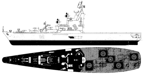 USSR Project 1123 Moskva Kondor -class Anti-Submarine Cruiser