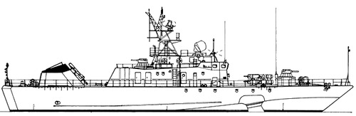 USSR Project 1141 Sokol Babochka -class Small Anti-Submarine Ship