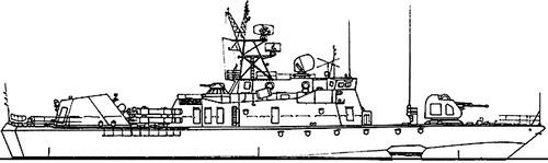 USSR Project 1145.1 Sokol Mukha -class Small Anti-Submarine Ship