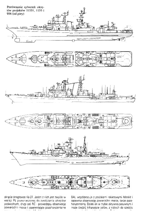 USSR Project 1155 Fregat Udaloy I-class Large Anti-Submarine Ship