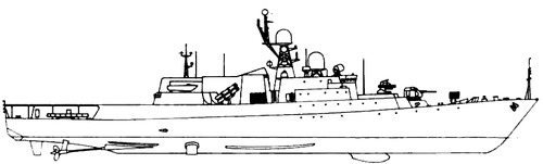 USSR Project 1166.1 Gepard 3 Class [Small Anti-Submarine Ship]