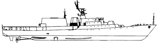 USSR Project 1166.1 Gepard 4 Class [Small Anti-Submarine Ship]