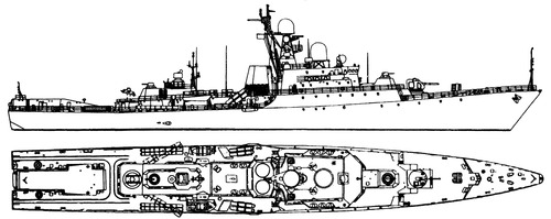 USSR Project 1166.1 Gepard Class [Small Anti-Submarine Ship]