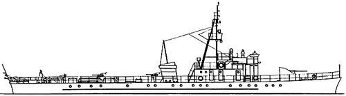 USSR Project 122A Artillerist -class Submarine Chaser