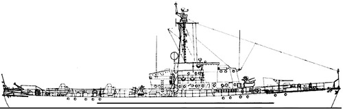 USSR Project 122bis S2 Kronshtadt -class Submarine Chaser