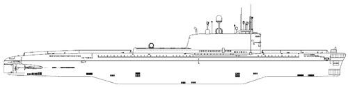 USSR Project 605 K-102 Golf IV-class SSB Submarine