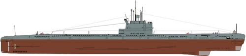 USSR Project 613 Whiskey-class Submarine