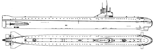 USSR Project 627A Kit (November-class Submarine)