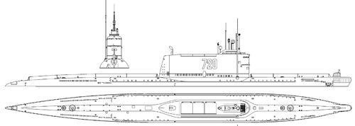 USSR Project 629A K-136 [Golf II-class SSB Submarine]