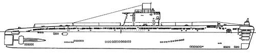 USSR Project 633 Romeo-class Submarine