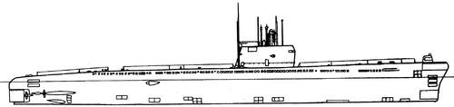 USSR Project 641 Foxtrot-class Submarine