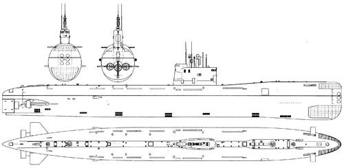 USSR Project 641B Som (Tango-class Submarine)