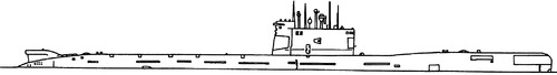 USSR Project 641B Som Tango-class Submarine